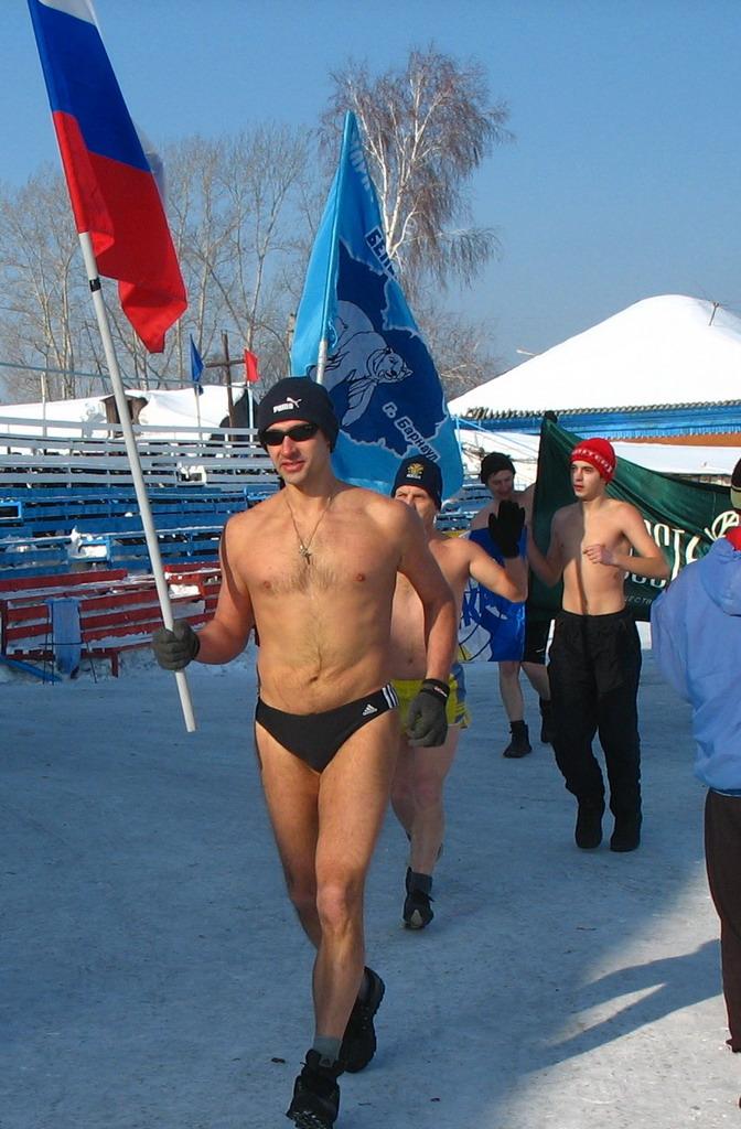 Моржевание и зимнее плавание Луганск Моё купание в проруби